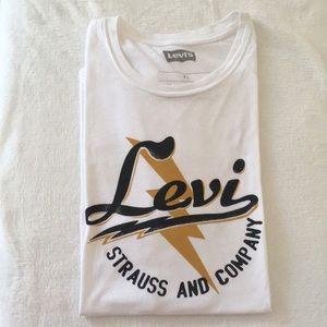 LEVI'S Graphic Logo Short Sleeve T-Shirt Men's XXL